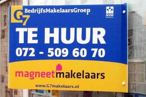 Makelaarsborden productcategorie